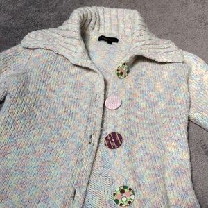 BCBG Multi colored sweater